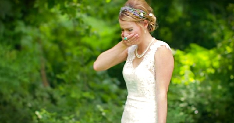 What Caused This Bride's Reaction Wowed Me. Get The Tissues For THIS Surprise!