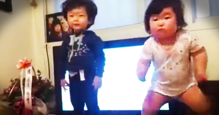 This Adorable Dance Party Comes With A Countdown! You'll Be Smiling In 1-2-3-4!