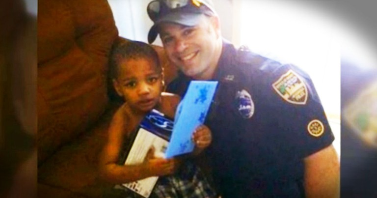What Happened to a 3-Year-Old Was Terrible. But At 3:32 This Officer Melted My Heart!