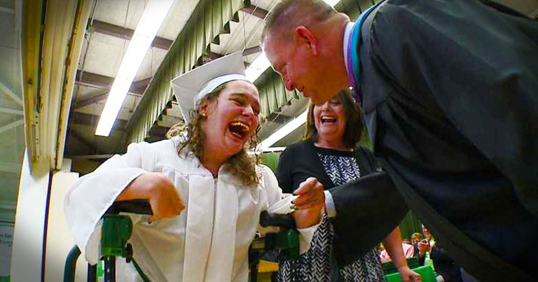 What This Girl Did To Make Her Dad Proud Is So INCREDIBLE. And I'm In Tears!