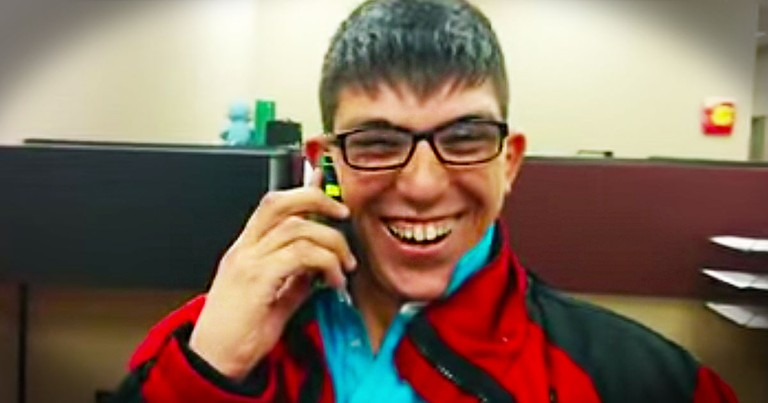 I've Heard of 'Reach Out and Touch Someone'. But After THIS Phone Call, He Deserved A Bear Hug.