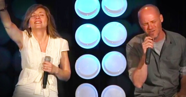 What This Duo Sings at 3:40 Is So True!  You'll Love The Christian Take On This Popular Song.