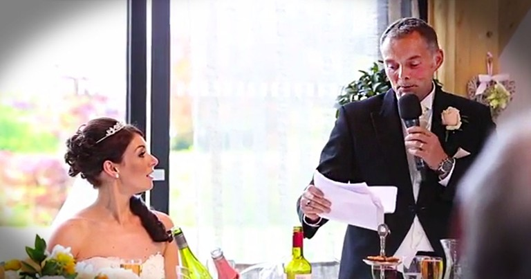 Everyone Thought This Father of The Bride Had Lost It.  Until He Stunned Them All at 3:10!