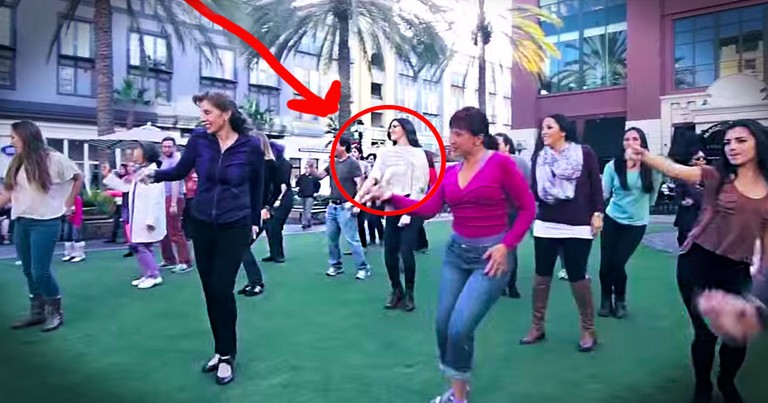 This Woman Thought She Was Part of A Birthday Flash Mob. But The Surprising Truth Is So Much Better!