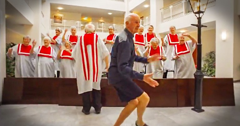 These 80-Somethings Are About To Show You Why They Are So Happy. Now I'm Dancing Too!
