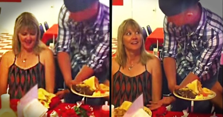This Mom Was Confused When The Waiter Got Her Order Wrong. Until She Turned Around!