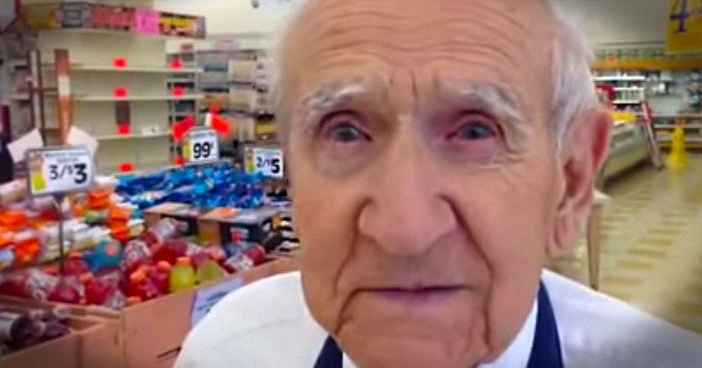 When Most People Would Be Outraged, This Grocery Store Bagger Is Just 'Sad'. And We Are Sad For Him!