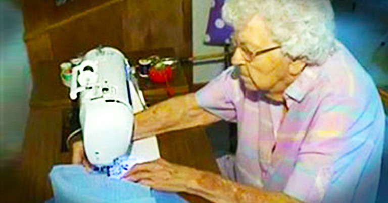 Every Day This 99-year-old Does Something Amazing For Children She'll Never Meet. And It's Inspiring
