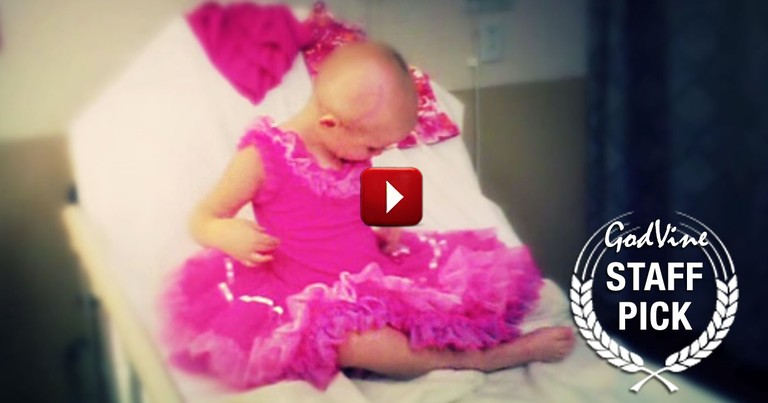 Dad Asks Doctor to Give Away His Cancer Free Little Girl at Wedding