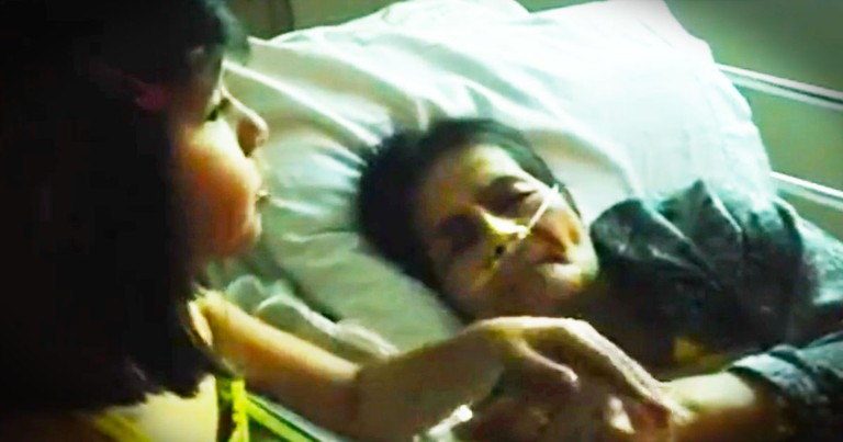 What This Little Girl Did For Her Dying Aunt Is So Amazing. God Sent This Woman A Little ANGEL!