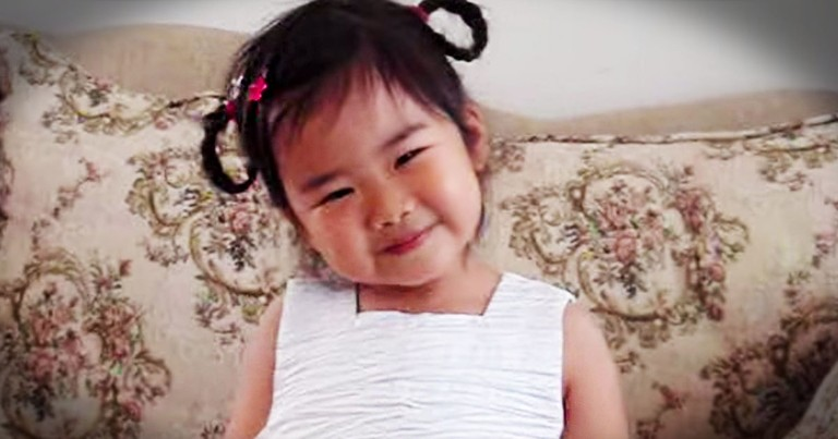 This Sweetie May Only Be 3 Years Old, But She Already Has A Heart For Jesus! Wait 'Til You Hear--Aww