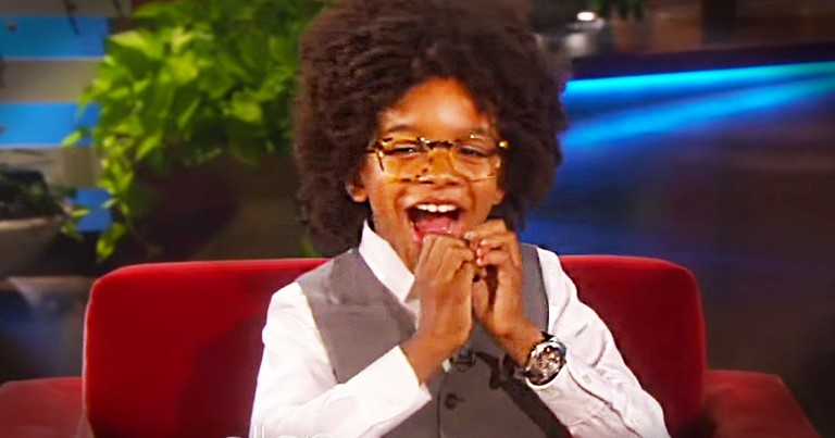 This Boy Was Freezing And Broke Until He Did THIS. Ellen's Surprise Is Great, But at 3:05...WHOA!
