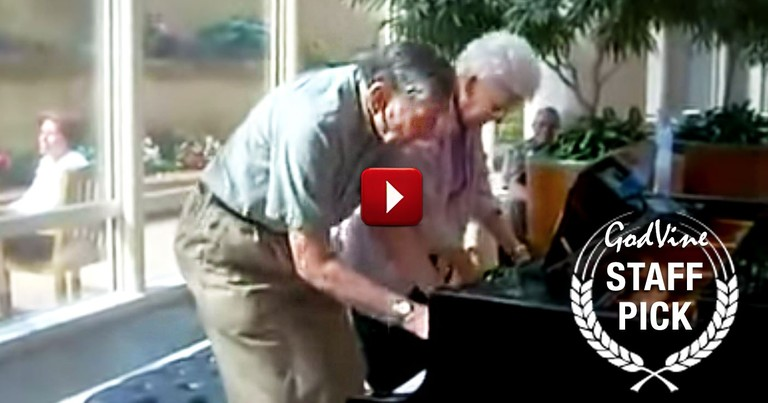 Watch What This 90 Year Old Couple Does at the Clinic
