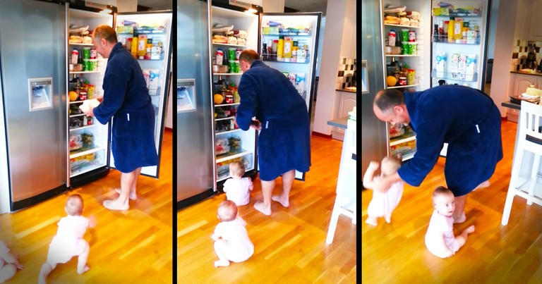 It Looks Like This Dad's Got Double The Trouble On His Hands. And I Cannot Stop Watching!