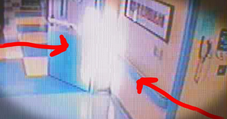 Hospital Camera Catches a Possible Angel on Video