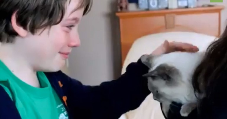 This Emotional Reunion Just BROKE Me Down. These Tears Are FUR-real!