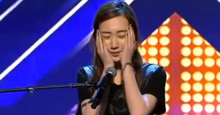 This Girl BROKE Under Pressure On Stage. But It's What She Did Next That Really Stunned Everyone!