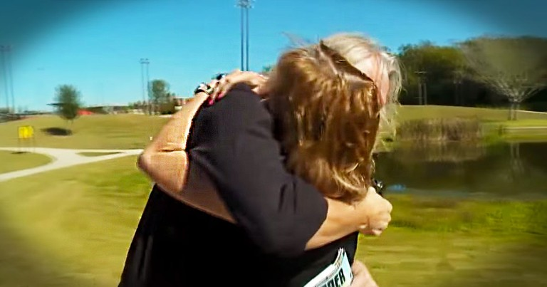 Man Is Reunited With The Woman Who Saved Him--30 Years Later