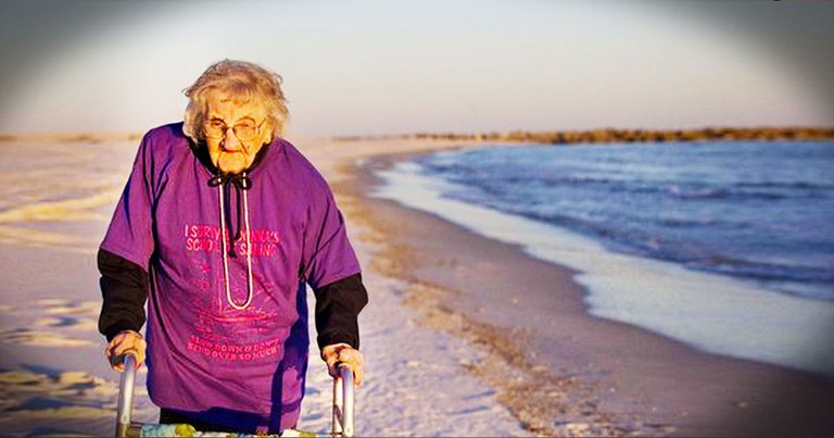 100-Year-Old Woman Has Secret Wish Come True