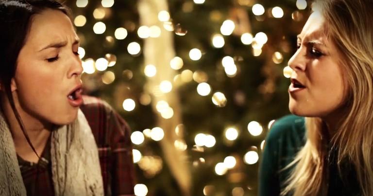 Musical Trio Sing Beautiful Christmas Hymn