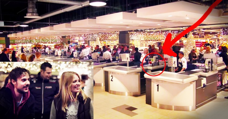 Grocery Store Surprises Shoppers With AMAZING Version Of 'Jingle Bells'