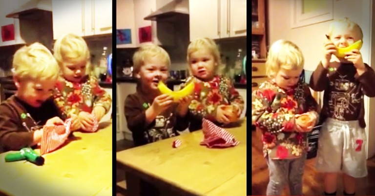 Dad Gives His Kids Fake 'Gifts' But Gets A REAL Heartwarming Surprise!