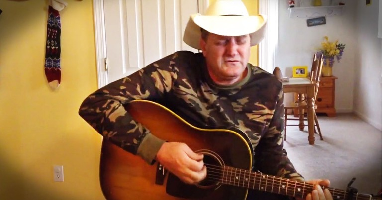Marty Brown Sings Country Cover Of 'Blue Christmas'
