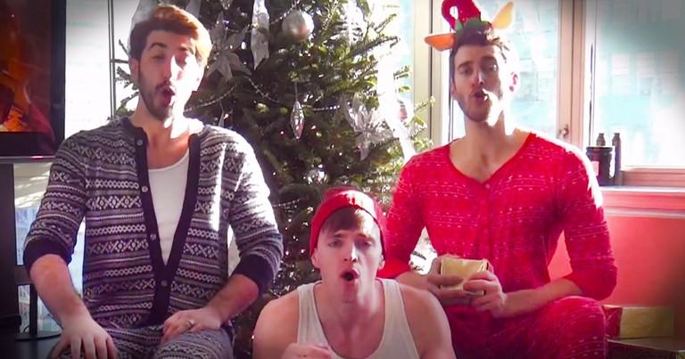 Spidey Boys Sing An Amazing A Cappella Christmas Medley