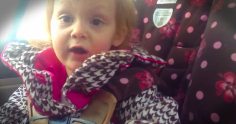 Independent Toddler Politely Declines Help And Offers Advice