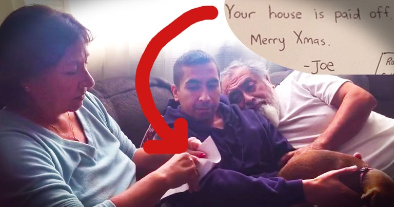 Man Surprises Parents By Paying Off Their Home