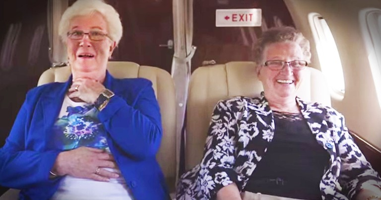 Hold Onto Your Heart. These Hilarious Grannies Are About to Fly Away With It!
