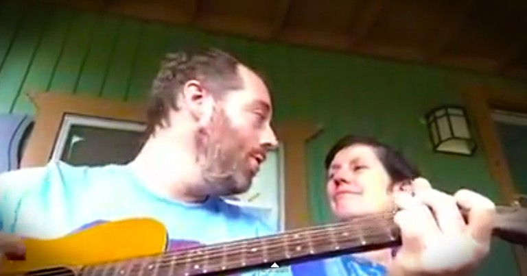 Son's Music Cheers Mom With Dementia