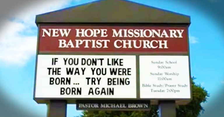 The Funniest Church Signs You Haven't Seen Yet