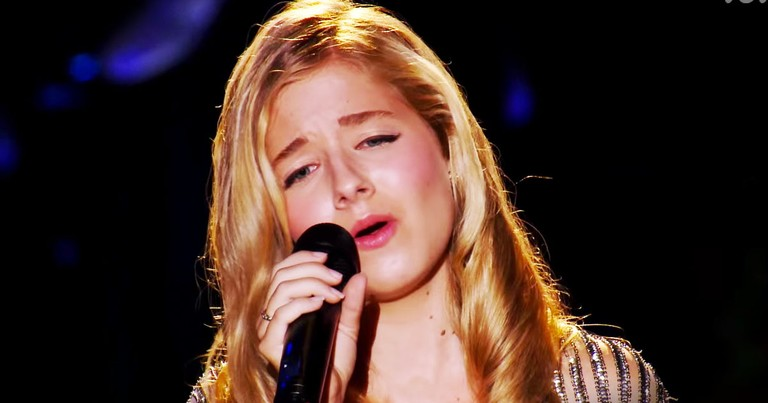 Jackie Evancho's 'Ave Maria' Is POWERFUL!