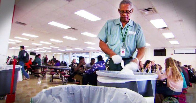 This Custodian's Secret 'Job' Will Wow You!