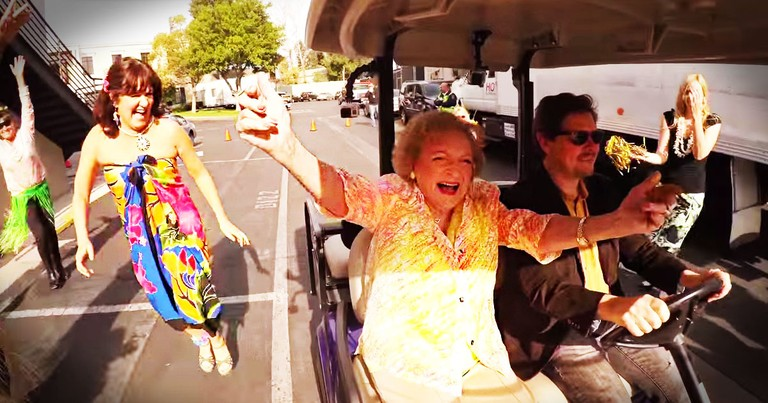 Betty White Gets Awesome Birthday Surprise Flash Mob!