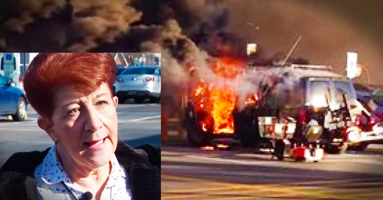 God Protected 70-Year-Old Hero From A Raging Car Fire