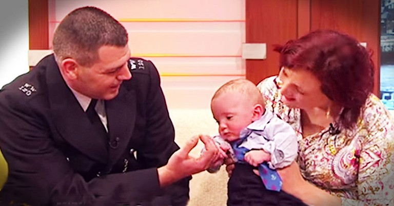 How This Hero Officer Saved A Newborn Is STUNNING!