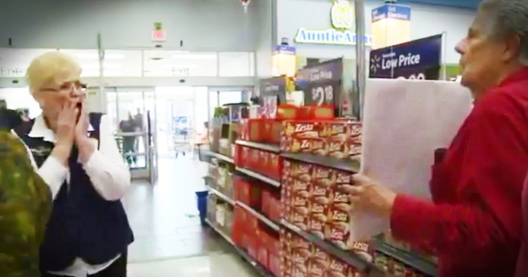 Walmart Worker Got A HUGE Surprise From Her Ex Of 43 Years!