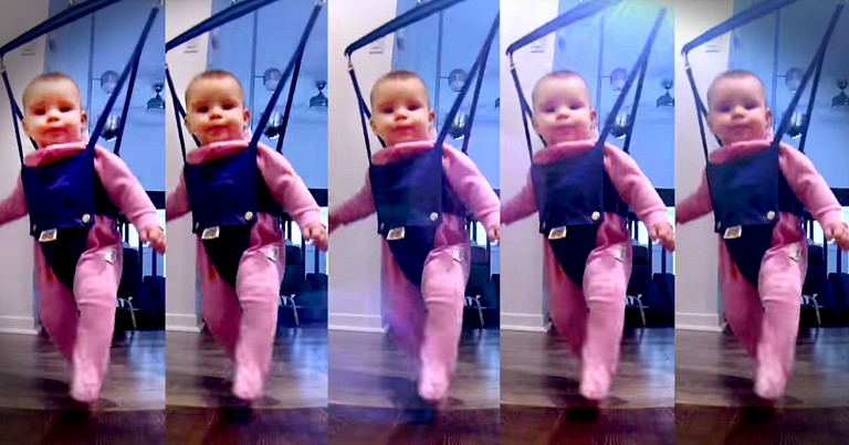 Adorable 'River Dancing' Baby Will Make Your Day!