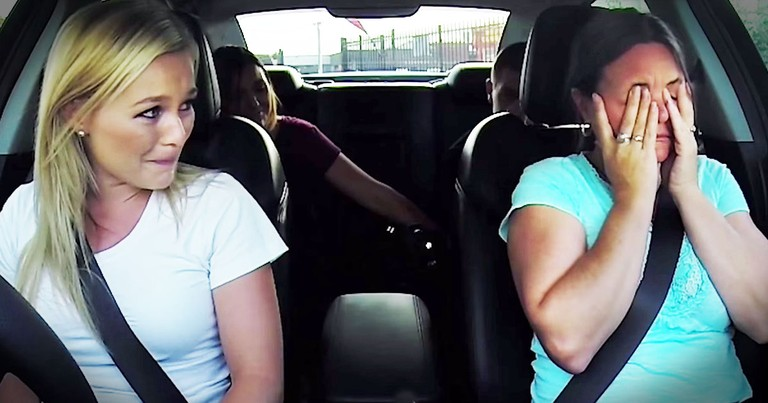 She Was Just Riding In Her Car When This Grieving Mom Gets AMAZING Surprise
