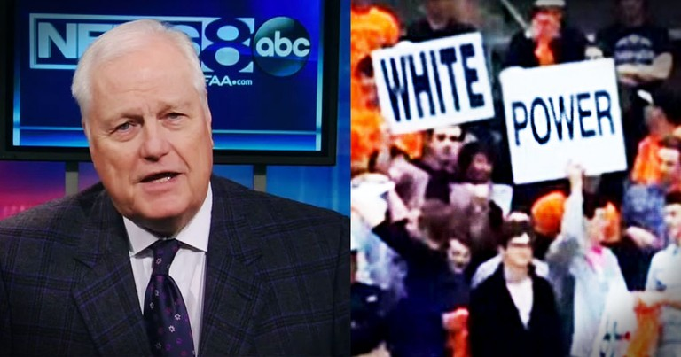This News Man SHOCKED Everyone When He Said THIS About Racism--Whoa!