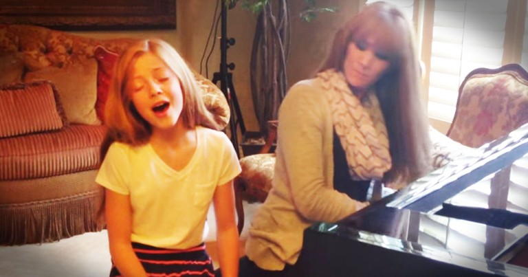 12-Year-Old Beautifully Sings 'How Great Thou Art'