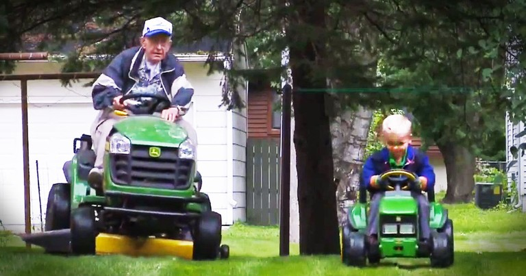 90th Birthday Reunites Vet With 4-Year-Old BFF--Aww!
