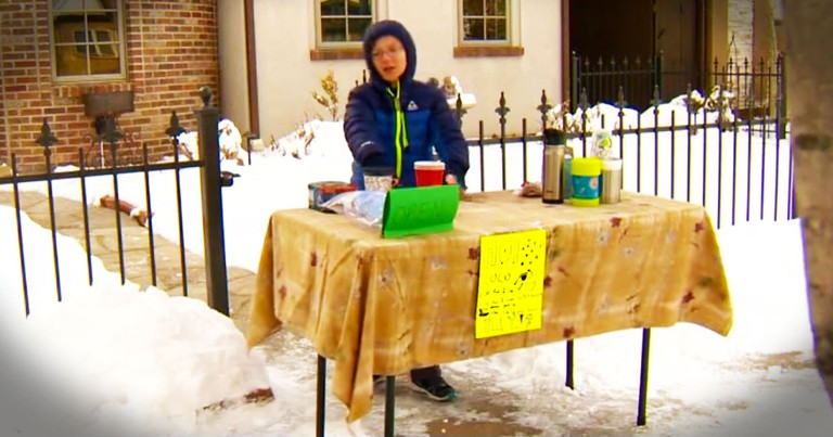 Why This Boy Braved The Cold Will Warm Your Heart!