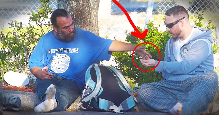 Man Rewards Kind Homeless People With AWESOME Surprise!