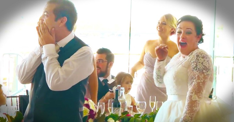 Music Star Surprises Deserving Wedding Couple!