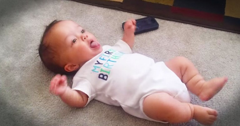 This Baby Has Some Serious Dance Moves--LOL!