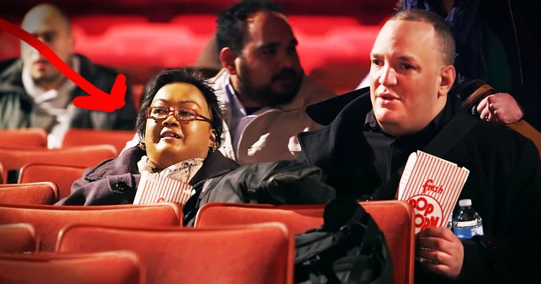 Cancer Survivor Goes To Movies, Gets Surprise Of A Lifetime!
