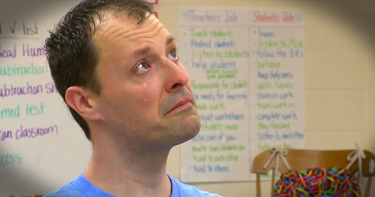 He's Got One Final Lesson For His Students--And It'll Bring Tears!